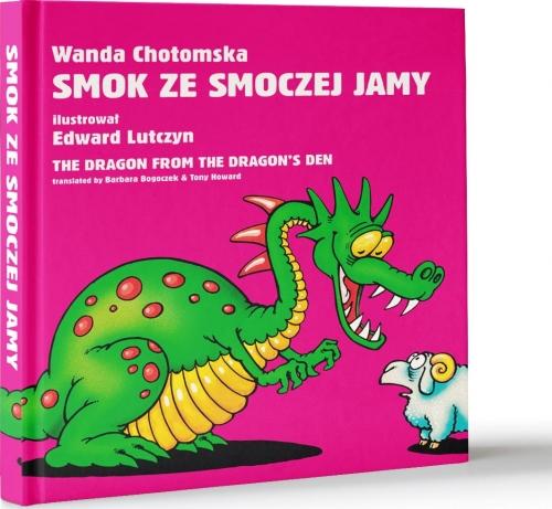 Smok Ze Smoczej Jamy Wanda Chotomska Edward Lutczyn Polsko Angielska Wierszowana Legenda O Smoku Wawelskim