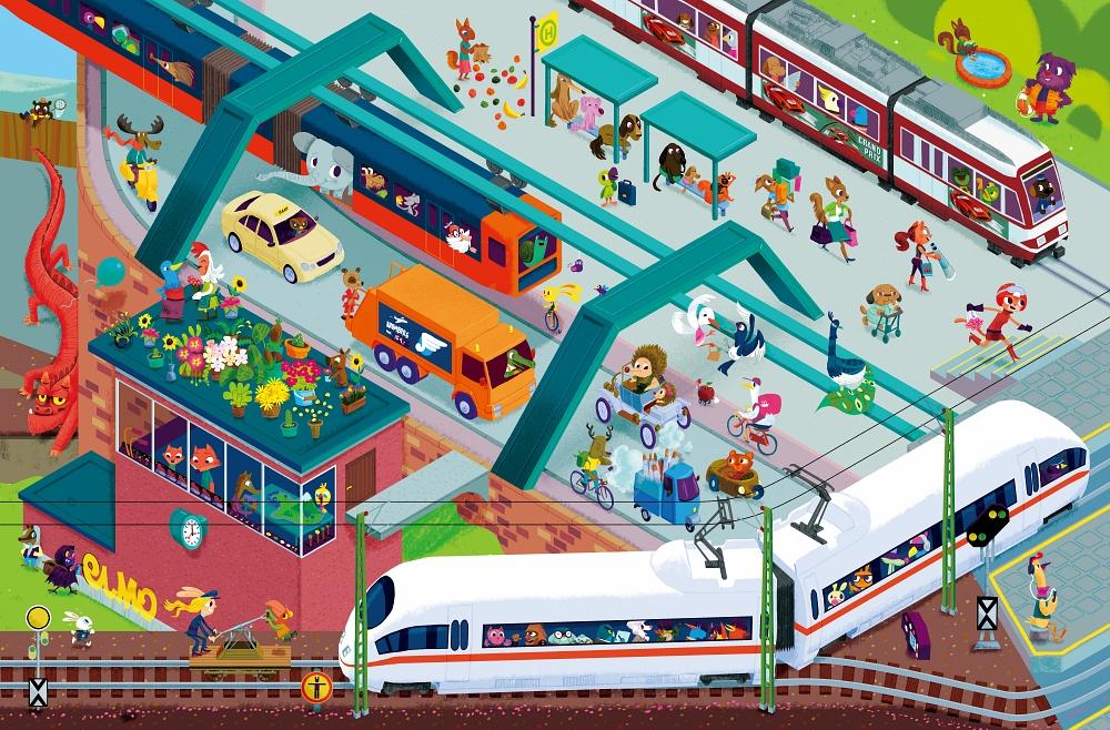 Pociągi – dworzec