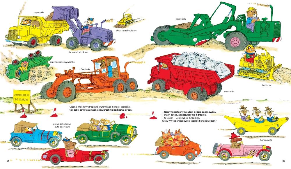 Auta, maszyny, pojazdy i wszystko do jazdy – na budowie
