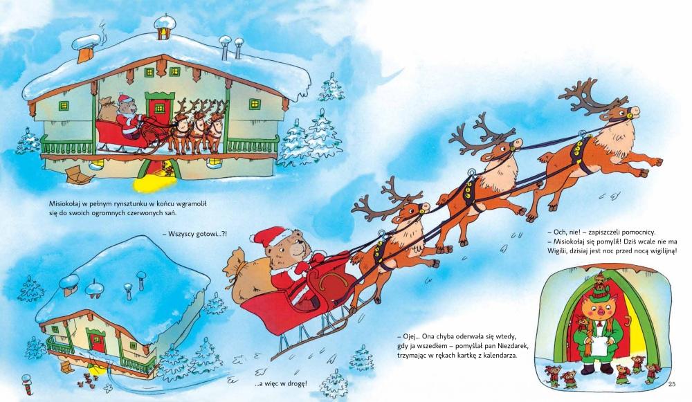 Kiedy przychodzi Święty Mikołaj – zaprzęg